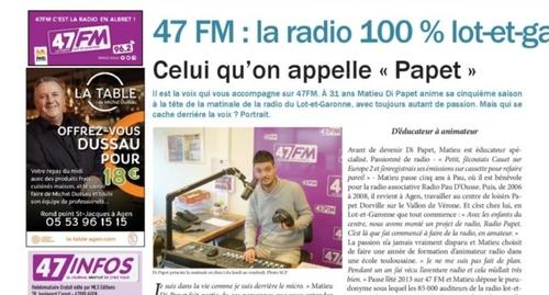 47FM dans le 47Infos