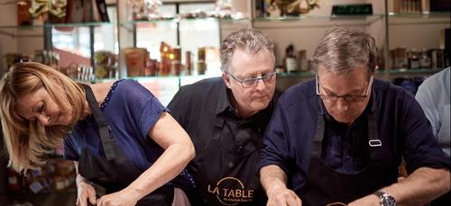 Michel Dussau cuisine !