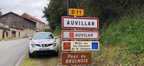AUVILLAR sur FRANCE 3