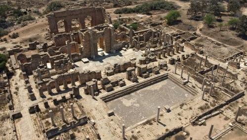 """Libye: Leptis Magna, la """"Rome d'Afrique"""" oubliée"""