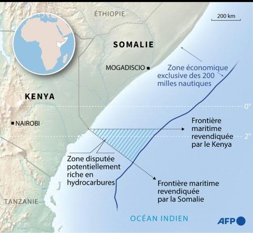 La CIJ accorde à la Somalie la majeure partie de la zone maritime...