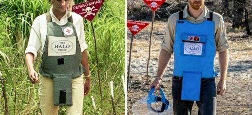 Angola: le prince Harry ému de marcher dans les pas de Diana pour...