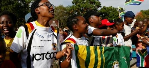 Avec les Springboks, les rugbywomen de Soweto se sentent pousser...
