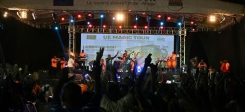 Magic System et des artistes ivoiriens chantent la paix