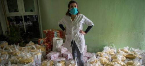 Coronavirus: livraisons commando pour les mères célibataires de...