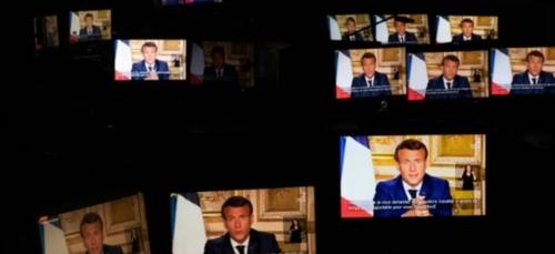 """Macron juge """"indispensable"""" un moratoire sur la dette des pays..."""