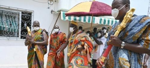 Côte d'Ivoire: le roi des Sanwi en appelle aux mânes pour combattre...