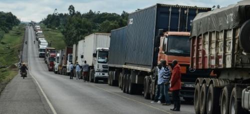 L'Afrique de l'Est se préoccupe de ses routiers transporteurs du virus