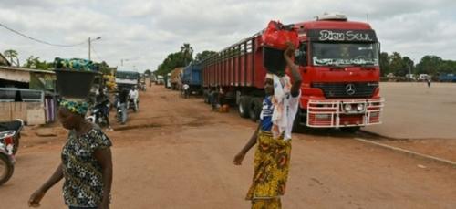 Côte d'Ivoire: le coronavirus paralyse commerce et activité dans le...