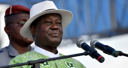 Henri Konan Bédié, toujours en course pour la présidence à 86 ans