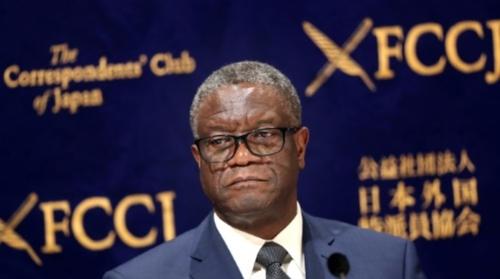 Tueries en RDC: Mukwege en croisade contre l'impunité dix ans après