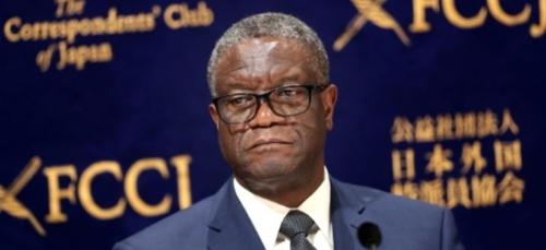 Tueries en RDC: Mukwege à la tête d'une croisade contre l'impunité...