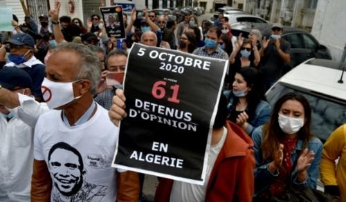 """Algérie/anniversaire: marches du """"Hirak"""" malgré l'interdiction de..."""