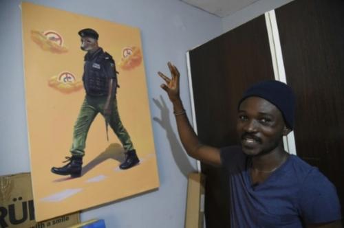 "Julius Agbaje, un peintre ""satiriste"" contre les injustices au Nigeria"