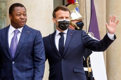Macron reçoit le président togolais Faure Gnassingbé