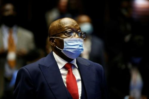 """Afrique du Sud: l'ex-président Jacob Zuma plaide """"non coupable"""" de..."""