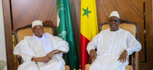 Sénégal: Abdoulaye Wade reçu par Macky Sall