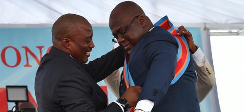 """Tshisekedi : """"On ne va pas se faire des bisous!"""", au sujet de Kabila"""