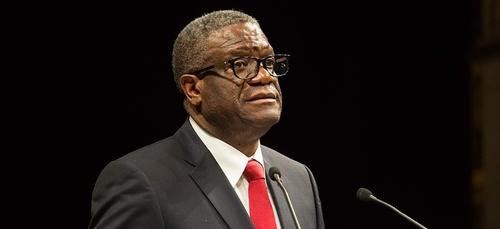 RDC : le Dr Mukwege, mécontent de la lutte contre le virus, quitte...