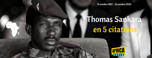Thomas Sankara en 5 citations