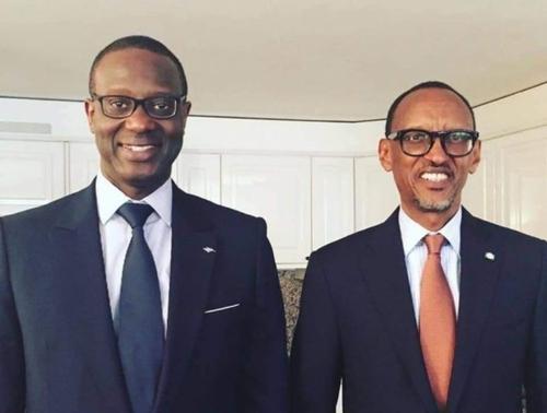 TidjaneThiam nouveau président du conseil d'administration de...