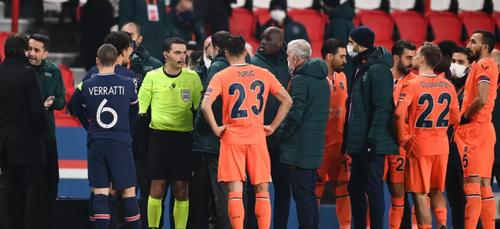Racisme / Football : Le match PSG - Basaksehir interrompu