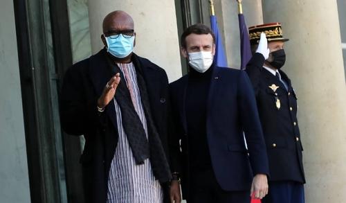 Roch Marc Christian Kaboré reçu par le président français