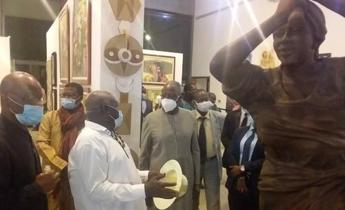 Musée des Cultures Contemporaines : Adama Toungara célèbre les 64...