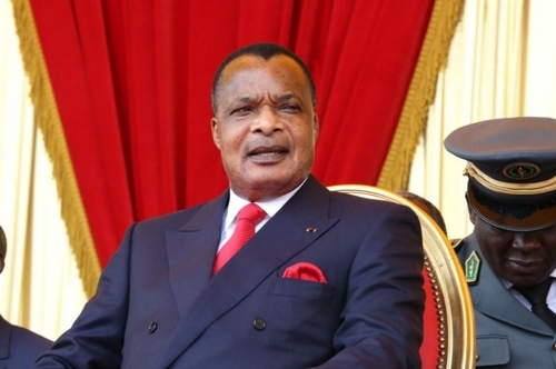 Denis Sassou Nguesso s'engage à placer le Congo sur la voie de la...