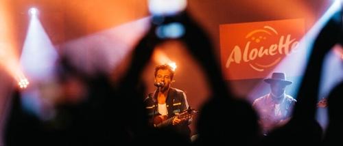 Concert privé Alouette Boulevard des airs et Christophe Maé