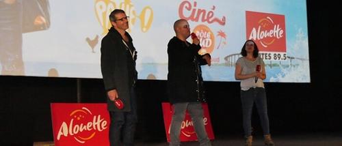"""Avant-première Alouette """"Ma Famille t'adore déjà"""" au Ciné Pôle Sud..."""