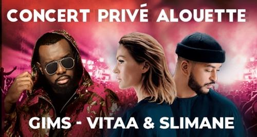 Concert Privé Alouette - GIMS - VITAA & SLIMANE - Rouillac - 23...
