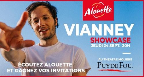 Vianney en showcase privé Alouette au Puy du Fou !