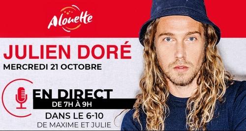Julien Doré - Invité Alouette