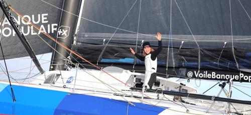 Vendée Globe : Clarisse Crémer a franchi la ligne d'arrivée