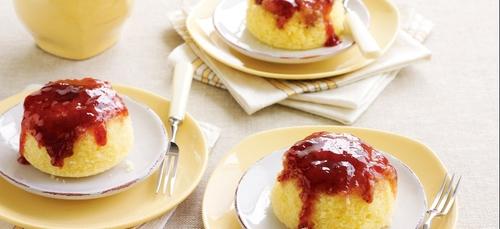 Recette : Puddings à la marmelade express, sans four et sans galère