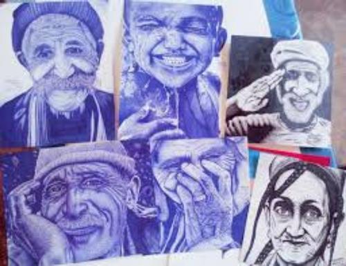 (Vidéo) Un jeune marocain réalise des portraits incroyables avec un...