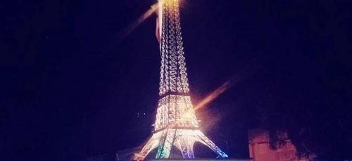 Un jeune tunisien réalise une Tour Eiffel de 4,5 m pour redonner...