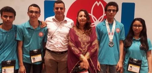 Médaille de bronze pour la Tunisie aux Olympiades Internationales...