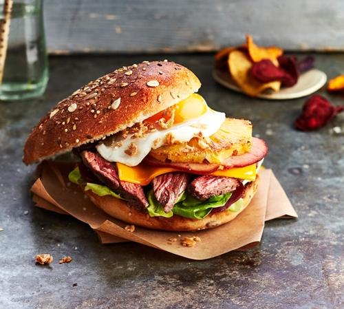 Recette : Burgers de Hampe de Bœuf à l'Australienne