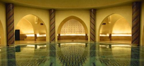 Les hammams de la mosquée Hassan II à Casablanca bientôt ouverts au...