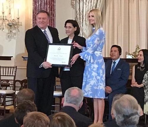 Une tunisienne récompensée pour son engagement aux Etats-Unis