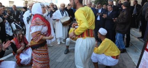 Ouverture du 11eme festival local de la culture et de la chanson...