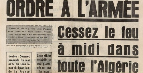 Les accords d'Evian, 58 ans après...