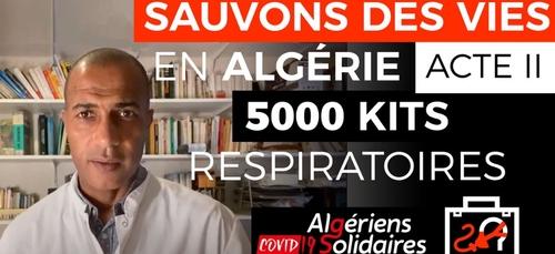 5000 kits respiratoires pour sauver des vies en Algérie.....