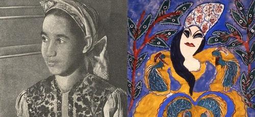 Baya Mahieddine, l'artiste peintre algérienne qui a inspiré Picasso...
