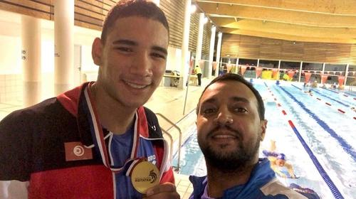 Le tunisien Ayoub Hafnaoui s'impose aux Championnat de France de...