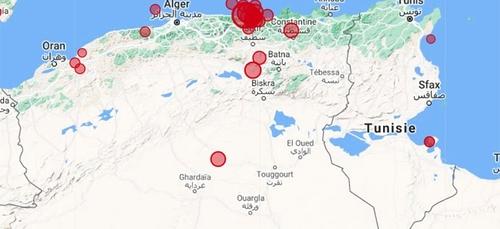 """L'activité sismique de ces derniers jours en Algérie est """"normale"""",..."""
