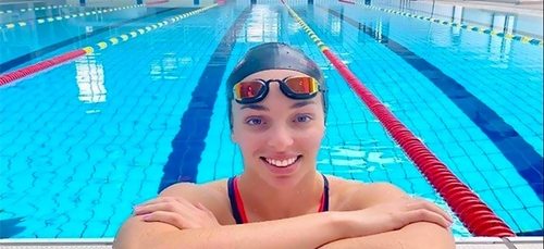 La nageuse Amel Melih améliore son record d'Algérie