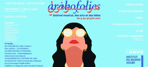 Festival Arabofolies : du 5 au 30 juin à l'IMA